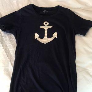 J.Crew Navy collector tee